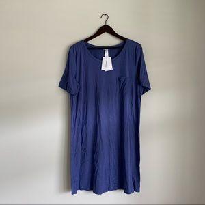 Hanro Sania Cotton Short Sleeve Nightgown Medium